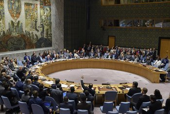 The UN Security Council considers the situation in the Middle East, including the Palestinian question