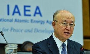 Le Directeur général de l'AIEA, Yukiya Amano (archives).
