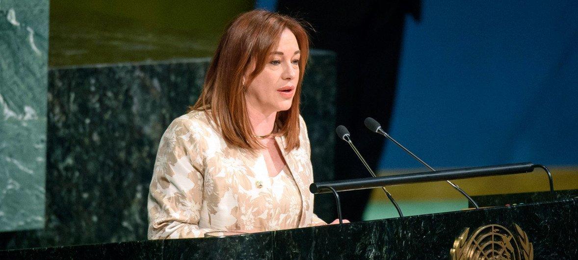 Image result for Ecuador's Maria Fernanda Espinosa Garces elected as President of UN General Assembly