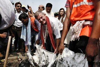 पहले भी विश्व पर्यावरण दिवस पर संयुक्त राष्ट्र पर्यावरण कार्यक्रम के प्रमुख एरिक सोलहीम और भारत के लिए संयुक्त राष्ट्र की पर्यावरण दूत दीया मिर्ज़ा ने आगरा में ताजमहल का दौरा करके जागरूकता बढ़ाई है.