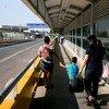 نقطة العبور الحدودية في ريو غراندي ، تربط بين رينوسا بالمكسيك وماكالين في تكساس بالولايات المتحدة الأمريكية.