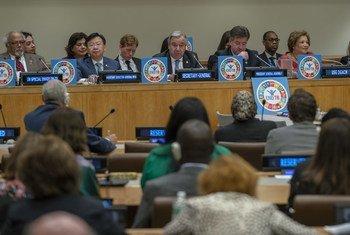 Secretário-geral, António Guterres, e presidente da Assembleia Geral, Miroslav Lajcak, concordaram que é preciso ação urgente.
