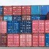 किसी बन्दरगाह पर, परिवहन बक्से, जिनमें लादकर, जहाज़ों के ज़रिये सामान पहुँचाया जाता है.