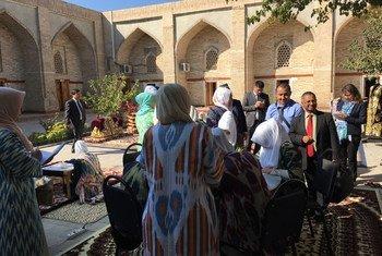 По приглашению Узбекистана в 2017 году в стране побывал Специальный докладчик ООН по соблюдению права на свободу религии и вероисповедании Ахмед Шахид.