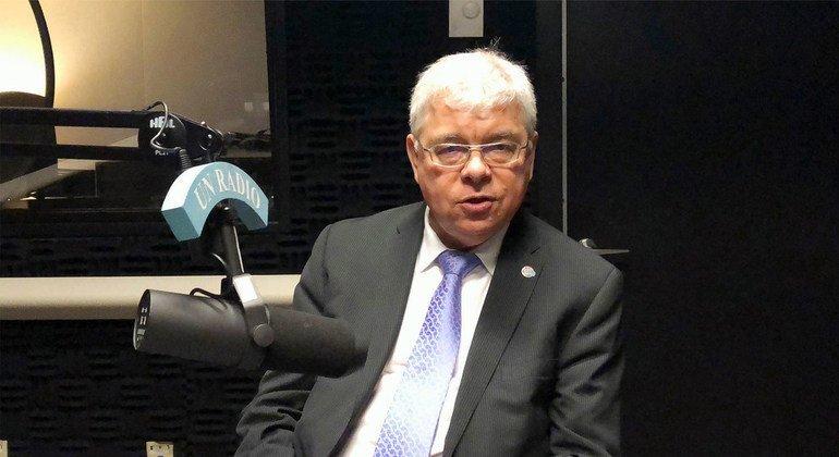Владимир Рябинин, Исполнительный секретарь Межправительственной океанографической комиссии (МОК) и заместитель Генерального директора ЮНЕСКО