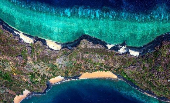 Relatório do IPCC destaca que a falta de ações em relação à mudança climática resultará em perdas ainda maiores dos recifes de coral, by Dia Mundial dos Oceanos/Gaby Barathieu