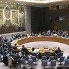 Vue de la salle du Conseil de sécurité de l'ONU.