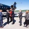 El Secretario General, António GUterres, a su llegada a Canadá para asistir a la Cumbre del G7