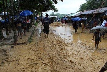 Mvua kubwa zinatatiza ufikiaji wa maeneo ya mashinani katika kambi ya Cox's Bazar