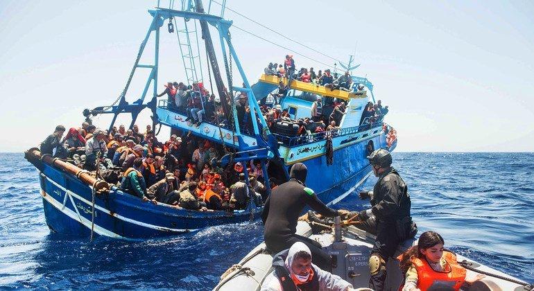 Plus de 1.090 migrants et réfugiés sont morts cette année en Méditerranée