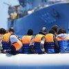 भूमध्यसागर पार करने की कोशिश कर रहे प्रवासी की जान एक बेल्जियम के जहाज ने बचाई. (फ़ाइल)