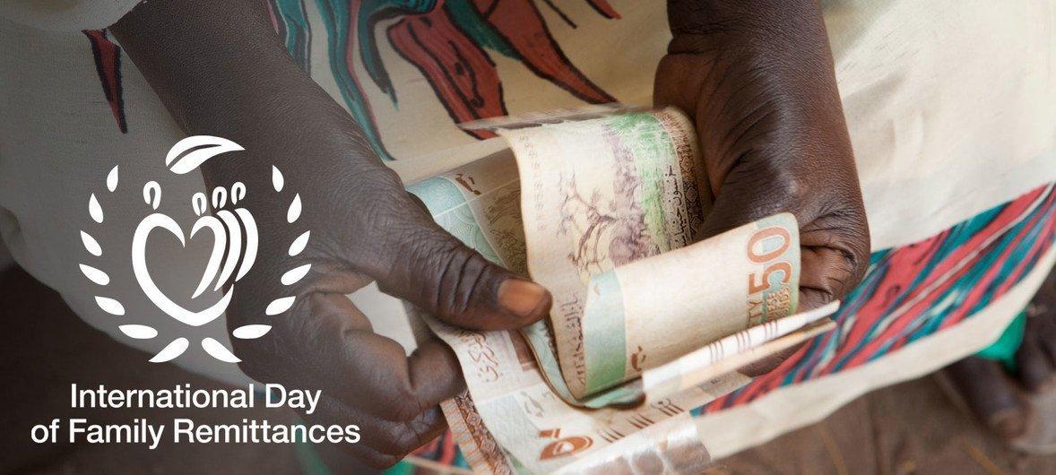 On estime que les envois de fonds familiaux, l'argent envoyé par les travailleurs migrants à leurs proches - soutiennent 800 millions de personnes dans le monde.