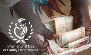 تدعم التحويلات المالية التي يرسلها المهاجرون إلى أسرهم، في بلدانهم الأصلية، 800 مليون شخص بأنحاء العالم.