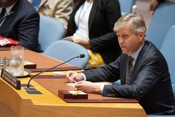Jean-Pierre Lacroix, Under-Secretary-General for Peacekeeping Operations, briefs the Security Council on the situation in Mali.