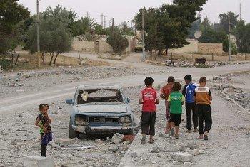 As Nações Unidas continuam pedindo um acesso humanitário livre na Síria.