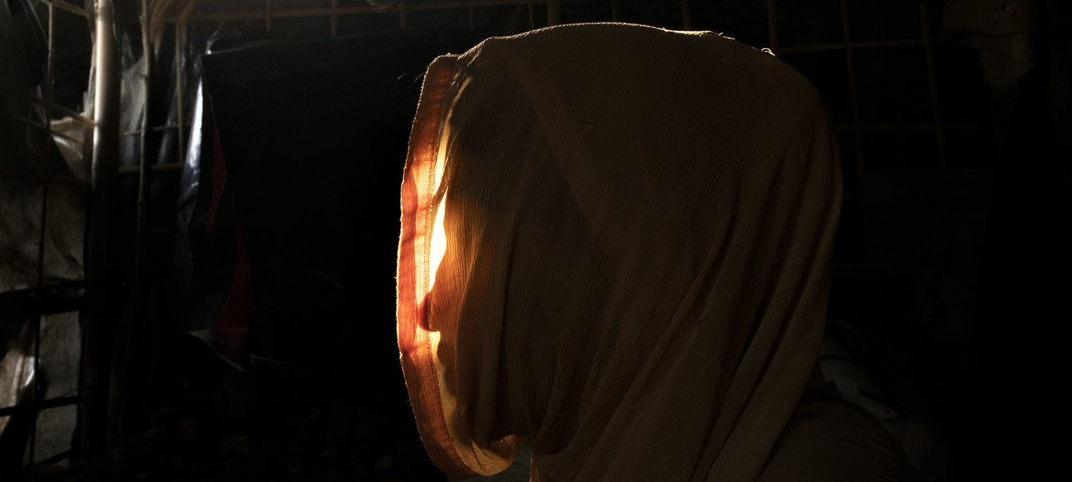 Sitting in her bamboo and plastic shelter in a refugee camp in Bangladesh, Rohingya refugee, Maryam, recounts the events that forced her from her home in Myanmar following a sexual assault that left her pregnant at 16 years old.