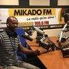 Karim Djinko, Chef de la Radio Mikado FM, Mali.