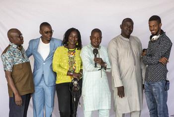 Radio Mikado-FM diffuse depuis le 16 juin 2015 ses programmes sur une vaste partie du territoire malien. Ici l'équipe de Mikado-FM