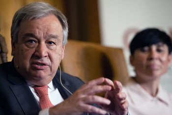 Secretary-General António Guterres at the annual Oslo Forum, hosted by Norwegian Minister of Foreign Affairs Ine Eriksen Soereide.