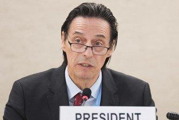 Vojislav Šuc, President of the Human Rights Council.