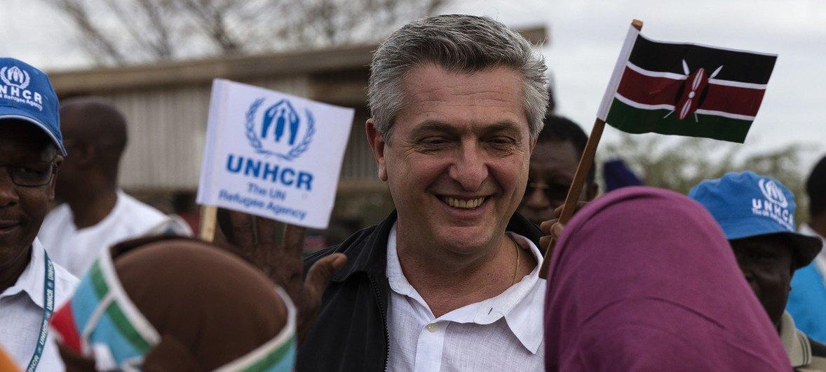 Kamishina mkuu wa shirika la Umoja wa Mataifa la kuhudimia wakimbizi,  UNHCR Filippo Grandi.
