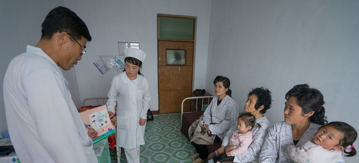 Challenges remain in DPRK despite 'slight' improvements in health, wellbeing: UNICEF