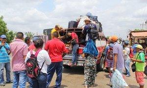 Более миллиона венесуэльцев пересекли границу с Колумбией