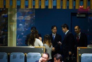 Юдзи Ивасава  из Японии избран судьей Международного Суда ООН.