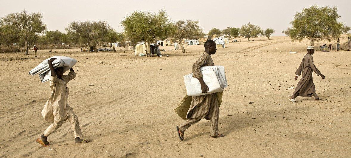 ONU estima que 7,1 milhões de pessoas precisem de assistência humanitária essencial nas áreas mais atingidas pelo conflito entre o governo e o grupo terrorista Boko Haram.