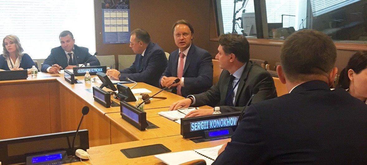 Делегация Украины на заседании по предотвращению террористических нападений на важные объекты инфраструктуры
