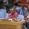 联合国负责非洲维和行动的助理秘书长凯塔在安理会做情况通报。