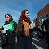 阿富汗国民议会选举举行,大批阿富汗人前往位于全国各地的投票站参加投票,联合国阿富汗援助团对此表示鼓舞。