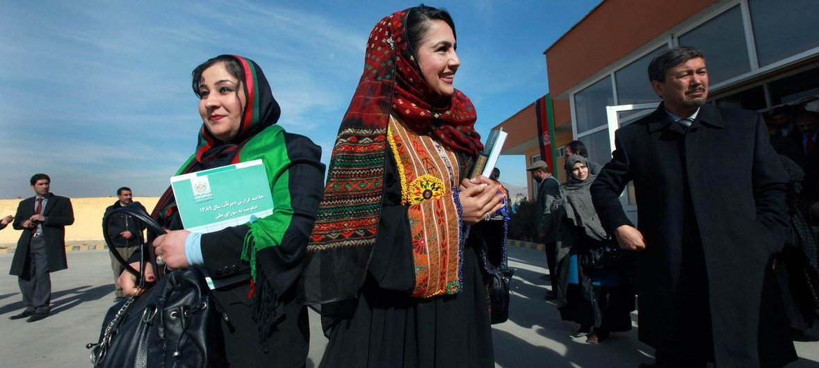 Принять участие в голосовании готовы около 9 миллионов афганцев, три миллиона из них - женщины