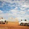 UNMIS Troops prepare for a patrol in Abyei (file).