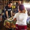 UNHCR Goodwill Ambassador Ben Stiller visits refugees in Guatemala.