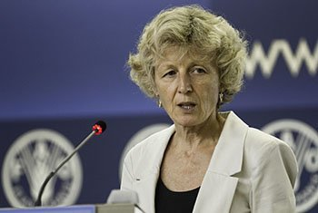 Eva Müller, Director of FAO's Forestry Policy and Resources Division.