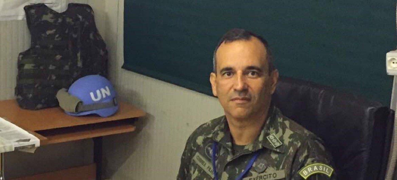 Coronel Correia Filho, do Brasil, integrou a Missão da ONU no Sudão do Sul, Unmiss.