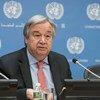 संयुक्त राष्ट्र महासचिव एंतोनियो गुटेरेश (फ़ाइल).