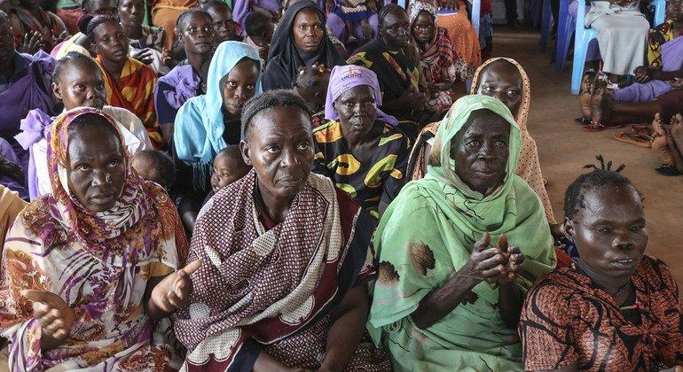 Mujeres que han sufrido una violencia brutal durante el conflicto de Sudán del Sur comparten.