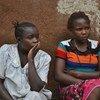 Akina mama hawa walikimbia ghasia Ituri DRC.