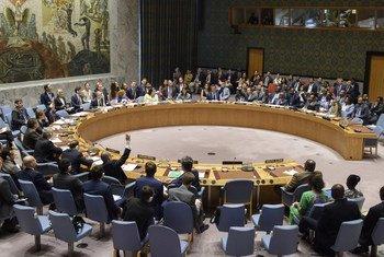 Le Conseil de sécurité en session.