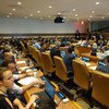 """联合国经济和社会事务部、联合国开发计划署、中国常驻联合国代表团7月16日在纽约联合国总部共同举行题为""""应对不平衡不充分发展,实现可持续发展目标""""2018高级别政治论坛边际活动。"""