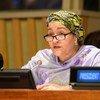 La vicesecretaria general de la ONU Amina Mohammed