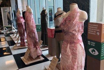 """Los tejidos de la colección """"Dríade"""" provienen de la madera de bosques gestionados de manera sostenible."""