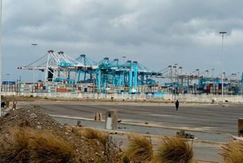 Le port de Tanger, au Maroc.