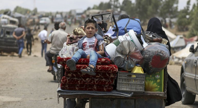 Syria: Scaled-up assistance, 'sustained access' needed to 140,000 made homeless, says UNHCR