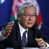 Le Représentant spécial du Secrétaire général pour l'Afghanistan, Tadamichi Yamamoto.