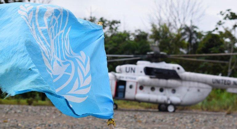 Формирование нового колумбийского общества проходит при активном участии ООН: в стране работает Контрольная миссия Организации.