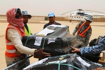 Papeletas electorales para las elecciones presidenciales en Mali.