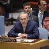 Jean Arnault, représentant spécial du Secrétaire général et chef de la Mission de vérification des Nations Unies en Colombie, informe le Conseil de sécurité des Nations Unies sur la Colombie. (archives - 26 juillet 2018)